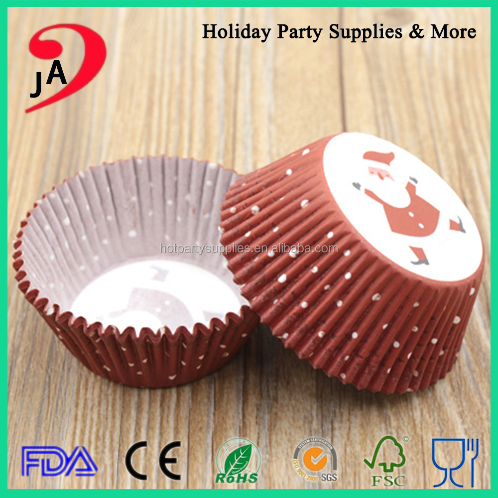 Custom Size Wedding Party Food Grade Packaging Paper Material For Cupcake Carrier