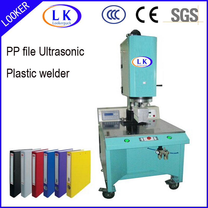 PVC folder plastic welding machine