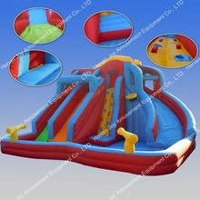 Cheap Commercial Grade Giant Inflatable Water Slide for sale
