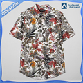 wholesale summer New fashion design short sleeves casual shirt hawaiian print shirts for men