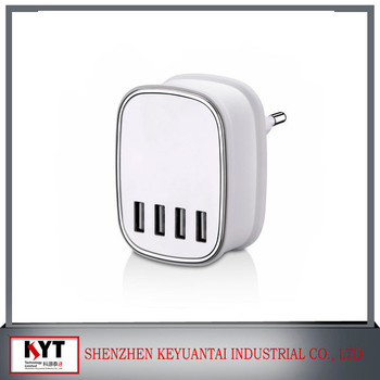 5V4.5A 3 or 4 Ports USB Charger KC Certificate for Bluetooth Speaker, Lenovo, Samsungs Mobile Phone