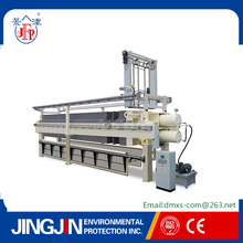 jingjin waste water treatment belt power filter press machine