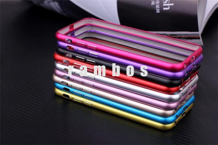 Metal Aluminum Bumper Frame Mobile Phone Covers Fundas Coque for iPhone 4 4S