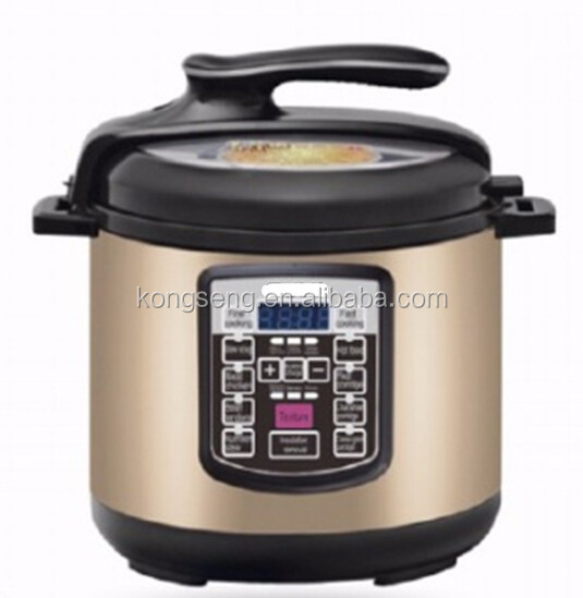 2015 Hot sell electric Multi functions pressure rice cooker 5L/6L 60pa