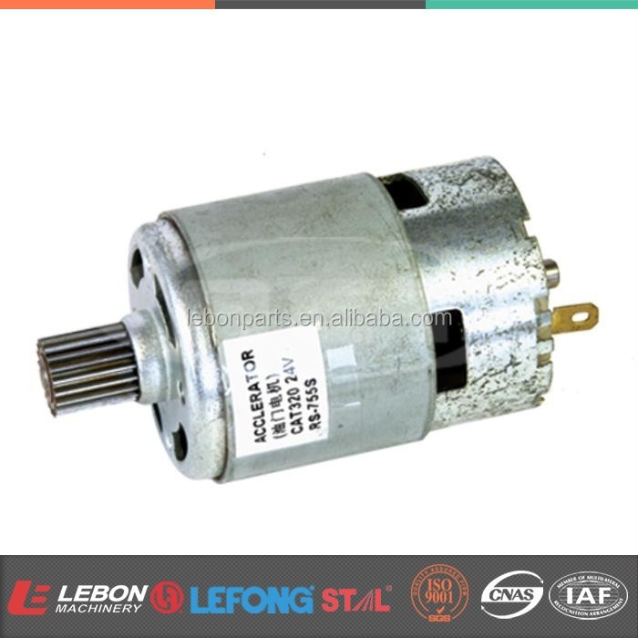 Whole sales Motor Assy Parts 24V E320 Throttle Motor Linear Accelerator RS-755S RS755S