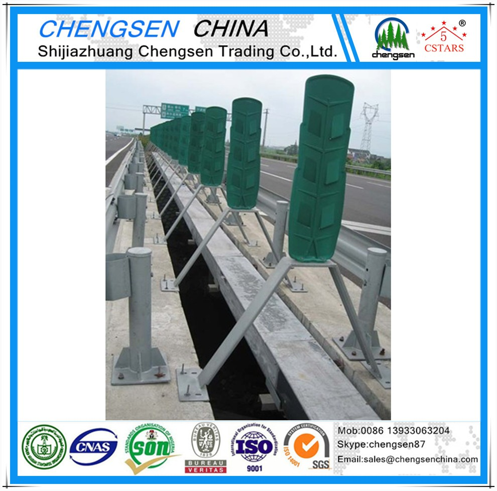 Professional supplier highway road guardrail