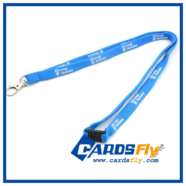 2016 hot sale promotional custom polyester neck springs coil lanyard