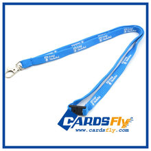 2017 hot sale promotional custom polyester neck springs coil lanyard