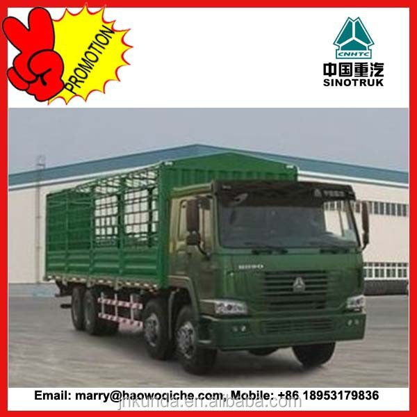 sinotruk HOWO 8*4 cargo truck for sale