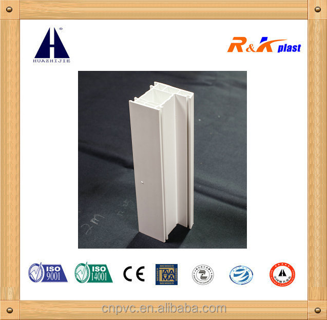 Certified white pvc co-extrusion profile