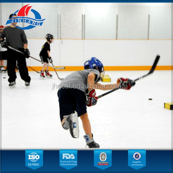 High quality synthetic ice rink for sale from Jinjhang plastic, guarantee for returns to build a safe trade for you