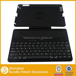 New design rotation keyboard case for ipad 2/3/4, keyboard case for ipad 2/3/4 with 360 degree rotation