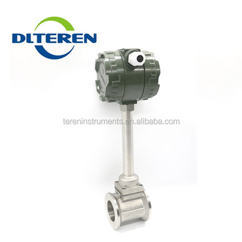 Teren Manufacturer Gas Steam OEM Vortex Flow Meter Split Type Vortex Flowmeter