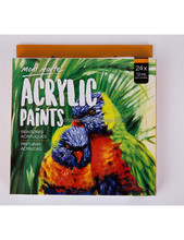 Mont Marte acrylic paint set 24 colors