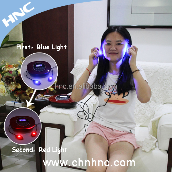 2015 LED red and blue light therapy equipment skin care beauty apparatus
