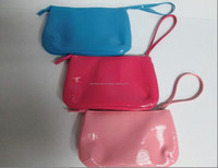 PU Toothpick Grain Cosmetic Pouch