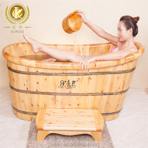 Solid wood cedar japanese hot tub, hot tub mold