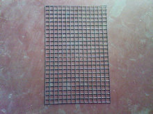 PVC coated welded wire mesh panel for construction