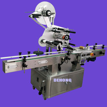 Automatic sticker flat surface labeling machine