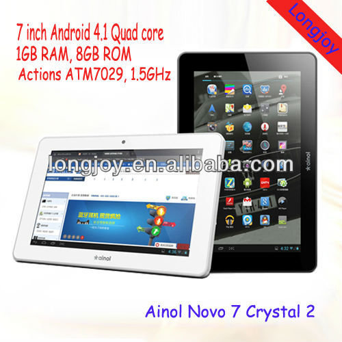 Ainol Novo 7 Crystal 2 Quad Core Android 4.1 Jelly Bean 7 inch Tablet PC