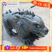 GODZILLA , Theme Park Ride on Animal Toy Animal Games Robot for Sale