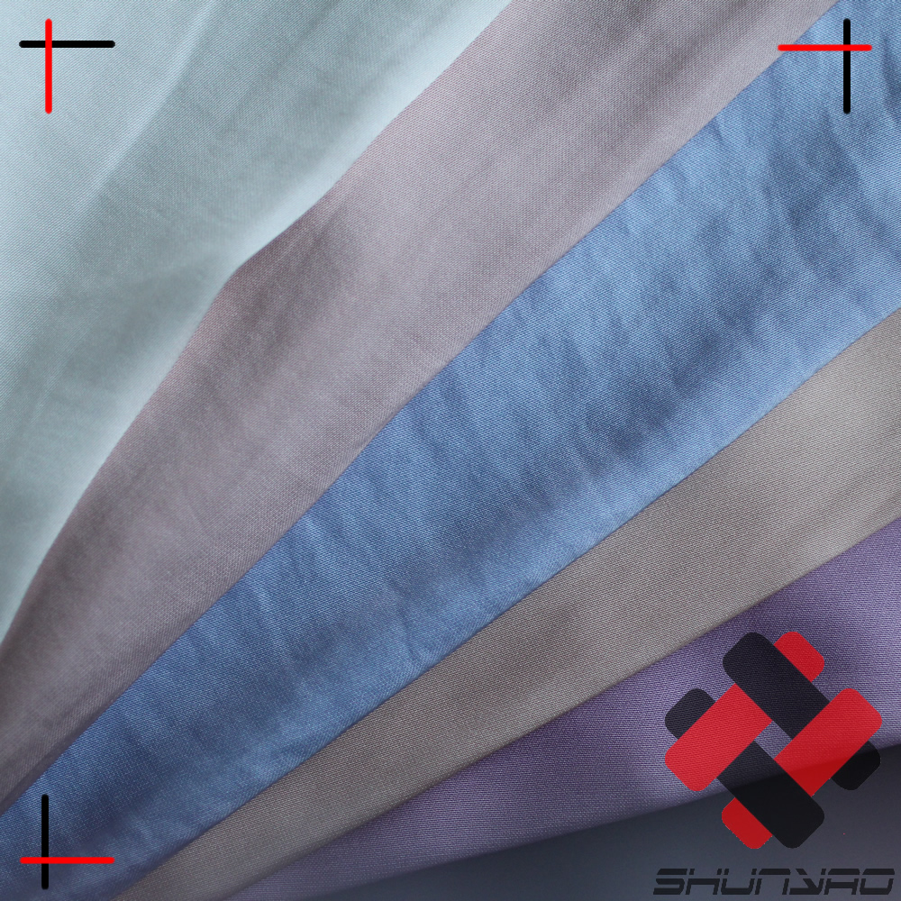 polyester sea island satin chiffon with crinkle effect high class imitated silk for fashion apparel