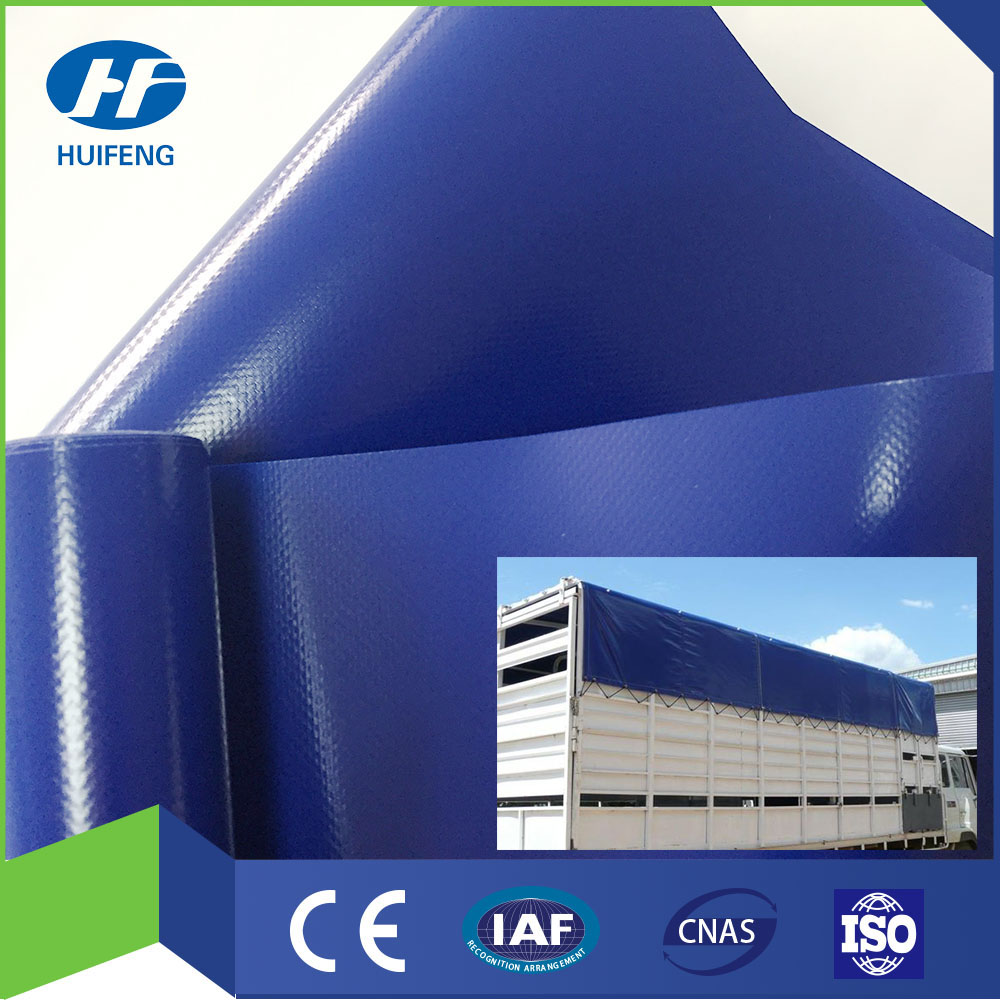 PVC Knife Coated Tarpaulin for Truck Cover 1000*1000/20*20 650g