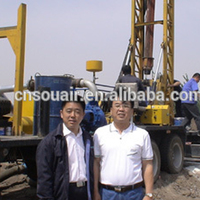 BZCLY400CCA Oilfield drilling construction site truck mounted rotary drill rig 400m hole depth 500mm hole diameter