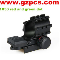 GZ2-0074 1X33 red dot sight lens red and green dot reflex sight