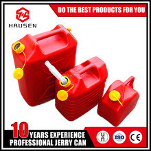 5L 10liter 20L HDPE plastic petrol fuel jerry cans with spout for sale