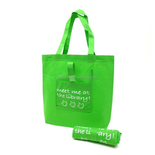 Reusable Polypropylene Roll Up Foldable Tote Shopping Bag