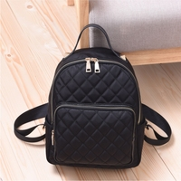 Alibaba express china High quality lady leather bag backpack for shopping