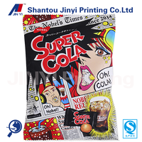 gravure printing design your own plastic bag for packing candy/gift wrapping plastic bags
