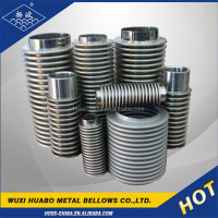 Steam Pipe Joint Flanged Metal Expansion Joint Stainless Bellows