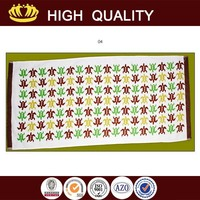 china supplier beach towel woven print wholesale