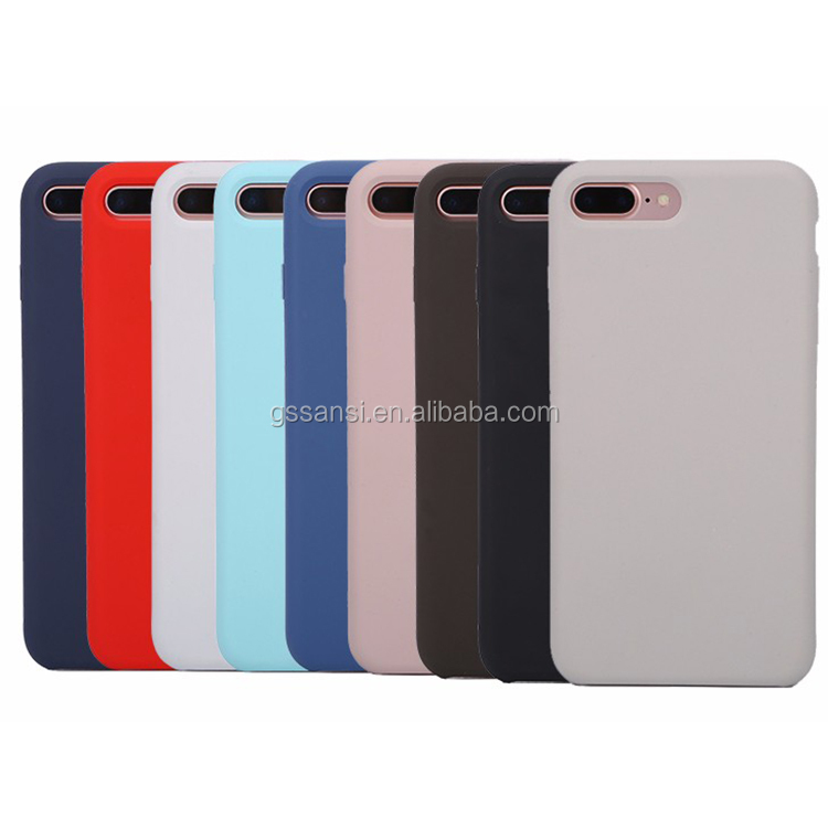 2018 New products case for <strong>iphone</strong> X Silicone Mobile Phone Case for <strong>iphone</strong> 8 Back Cover Case for Mobile Phones