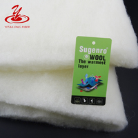 Garment Filling 40% Polyester 60% Wool Batting Manufacturer