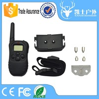 Factory Sale 6V Electric Remote Shock Anti Barking Dog Training Lead Collar