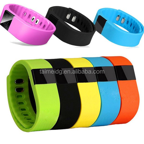 2015 factory supply tw64 intelligent fitness pedometer bluetooth smart wristband, smart sport bracelet, sport bluetooth bracelet