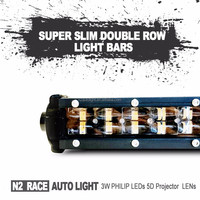 N2 Guangdong factory wholesale 42'' 12 volt led light bar 4x4 240w SLIM double row led driving light for trucks,auto parts