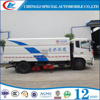 Sand cleaning truck Dust road sweeping truck Snow road sweeper truck for sale