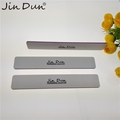 Wide Square Shape Grey Disposable Nail File Buffer With Customized Logo
