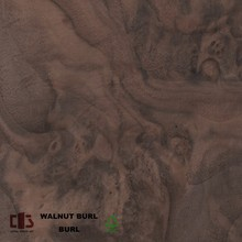 China wholesale natural walnut burl veneer for 3MM Decorative Plywood