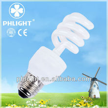 2013 New Product 220V 25W 4.0T CFL Half Spiral Energy Saver Light Bulb