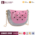 HEC Small Size Lovely Watermelon Shaped Metal Chain Waterproof Kid Shoulder Bag