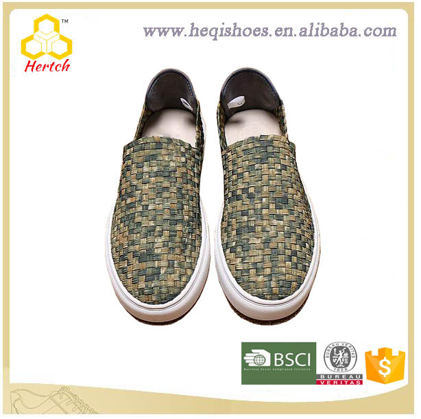 Latest Design High Quality Hand Made Woven Italy Men Casual Shoes