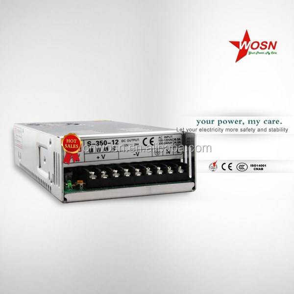 S-350-12 ac to dc led power supply , dc switching power supply 12v 350w