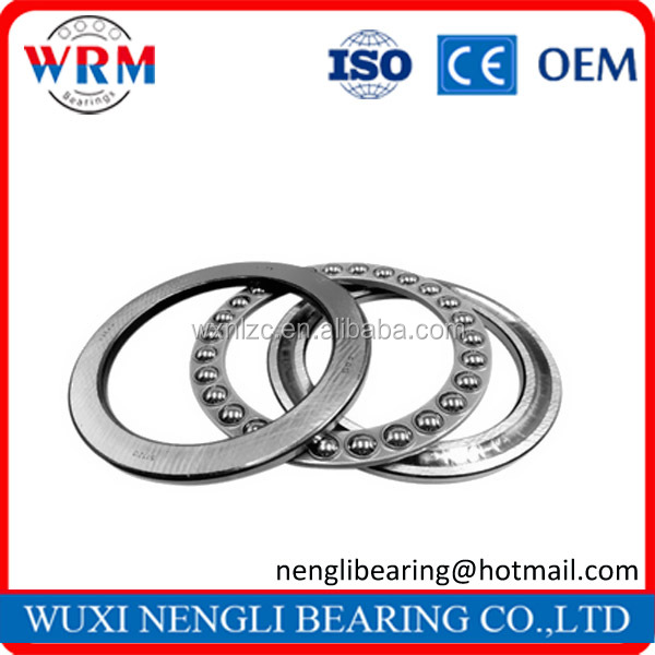 Large Stock Competitive Price China Factory Thrust Ball Bearing 51202
