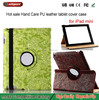 made in china alibaba Transaction Good Quality PU Leather 360 Degrees Rotation Support functions Case for iPad mini