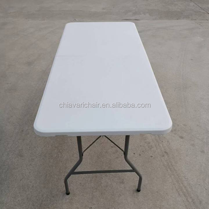 China HDPE Plastic Outdoor Resin Folding Banquet Events Table